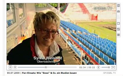 Stadioner ffnung bei union berlin der umbau der alten for Spiegel tv video